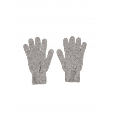 Cashmere Ladies Gloves - Light Grey