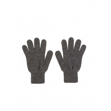 Cashmere Ladies Gloves - Mid Grey