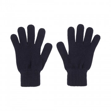 Cashmere Ladies Gloves - Navy