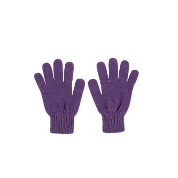 Cashmere Ladies Gloves - Purple
