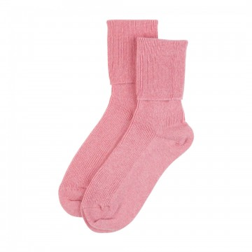 Cashmere Ladies Socks - Pink