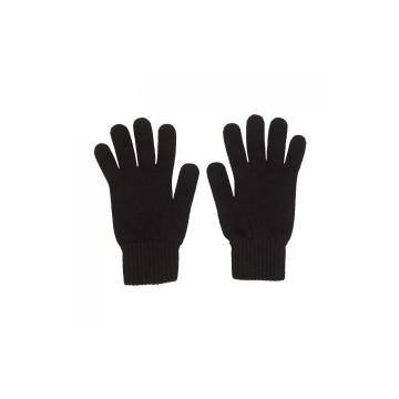 Cashmere Mens Gloves - Black