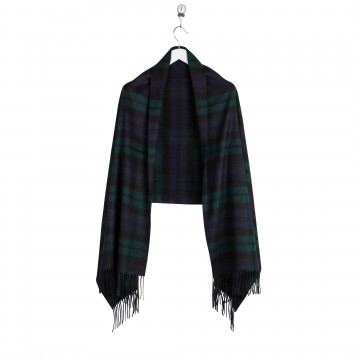 Cashmere Stole - Black Watch