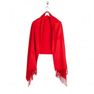 Cashmere Stole - Red