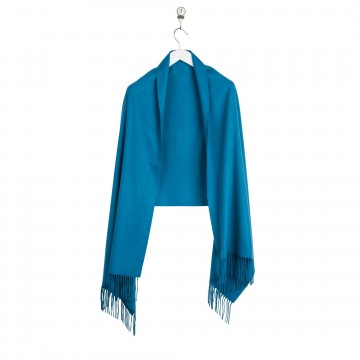 Cashmere Stole - Teal