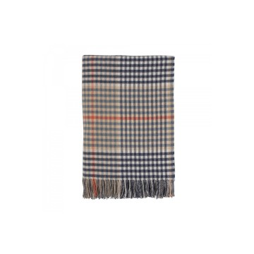 Johnston's of Elgin Lambswool Tartan Throw - Alvah