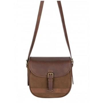 Clara Bag in Walnut by Dubarry