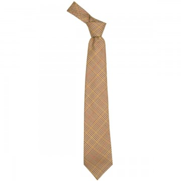 Crail Check Lochcarron of Scotland Tweed Wool Tie