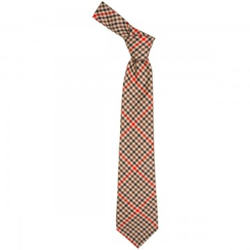 Denholm Check Lochcarron of Scotland Tweed Wool Tie