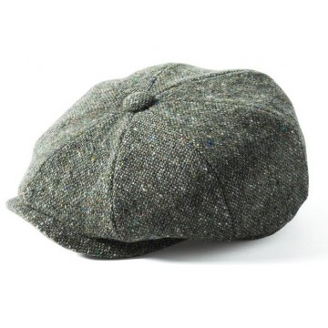 Failsworth Donegal Tweed Mayo Hat - Flecked Green