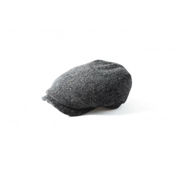 Failsworth Donegal Tweed Windsor Hat - Flecked Grey