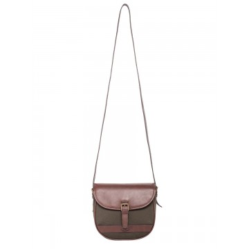 Clara Bag in Olive by Dubarry