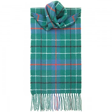 Duncan Ancient Tartan 100% Lambswool Scarf by Lochcarron