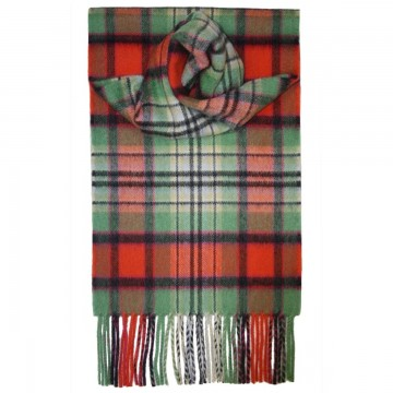 Luxury Cashmere Scarf - Dundee Old Ancient Tartan