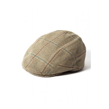 Failsworth Gamekeeper Tweed Flat Cap