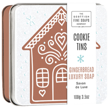 Gingerbread Cookie Soap in a Tin