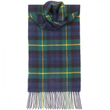 Gordon Modern Tartan 100% Lambswool Scarf by Lochcarron