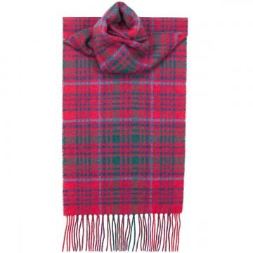 Grant Modern Tartan 100% Lambswool Scarf by Lochcarron