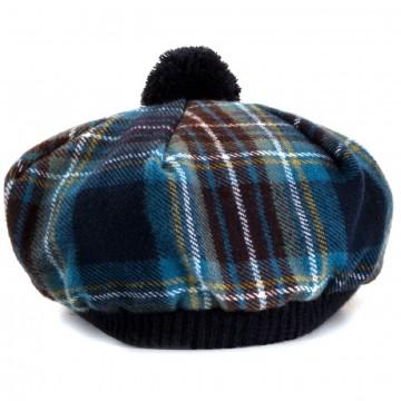 Holyrood Modern Tartan Brushed Wool Tam