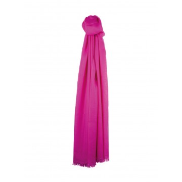Sinclair Duncan Thistledown Cashmere Scarf - Hot Pink
