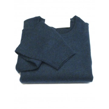 Astral Men's Crew Sweater - 100% Cashmere Made in Scotland