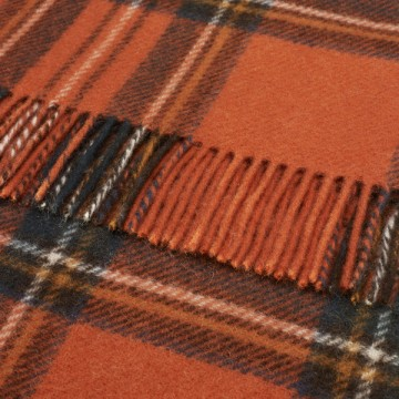 Bronte by Moon Knee Blanket Antique Royal Stewart Tartan