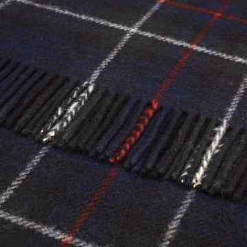 Bronte by Moon 100% Pure New Wool Tartan Throw - Mackenzie