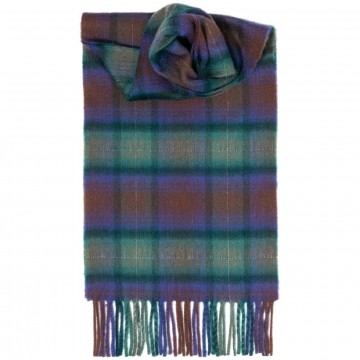 Isle of Skye Tartan 100% Cashmere Scarf by Lochcarron of Scotland