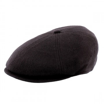 Failsworth 6 Piece Cap - Made with Moon Wool - Mottled Brown