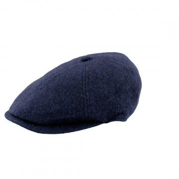 Failsworth 6 Piece Cap - Made with Moon Wool - Mottled Navy