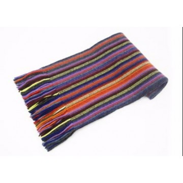 Purple Mix Lambswool Scarf from The Scarf Company - Made in Scotland