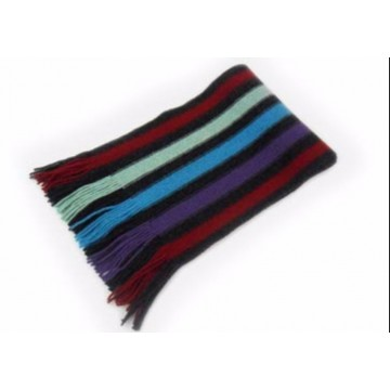 Block Stripes Lambswool Scarf from The Scarf Company - Made in Scotland