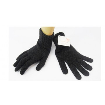 Charcoal 2 Ply Cashmere Ladies' Gloves from The Scarf Company