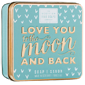 Love You to the Moon and Back Soap in a Tin
