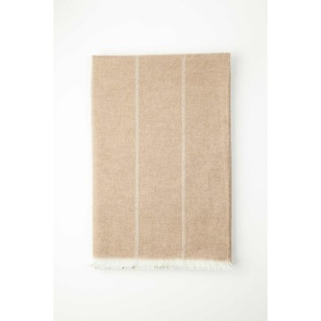 Johnston's of Elgin Cashmere Silk Luxe Bed Throw