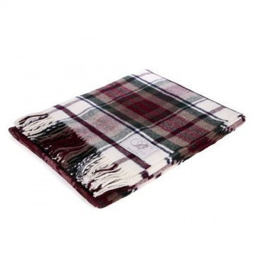 Bronte by Moon 100% Lambswool Tartan Throw - MacDuff