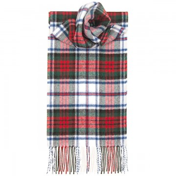 MacDuff Dress Modern Tartan 100% Lambswool Scarf by Lochcarron