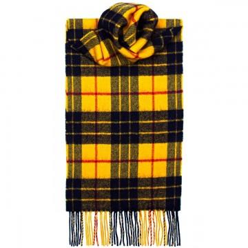 MacLeod Dress Modern Tartan 100% Lambswool Scarf by Lochcarron