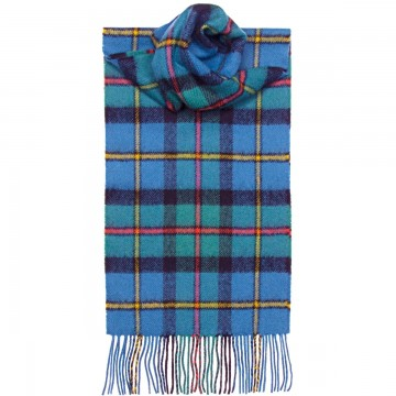 MacLeod of Harris Ancient Tartan 100% Lambswool Scarf by Lochcarron