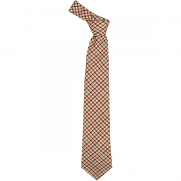 Maxton Check Lochcarron of Scotland Tweed Wool Tie