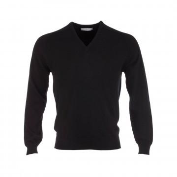 Classic Cashmere Sweater - Black