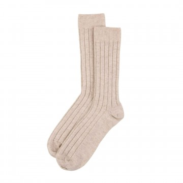 Cashmere Mens Socks - Dark medium Dyed