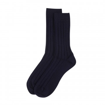 Cashmere Mens Socks - Navy