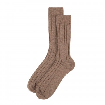 Cashmere Mens Socks - Otter