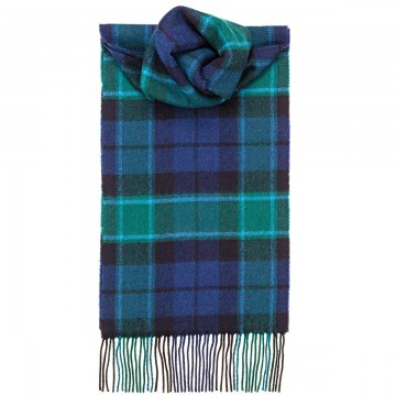 Graham of Menteith Modern Tartan 100% Lambswool Scarf by Lochcarron