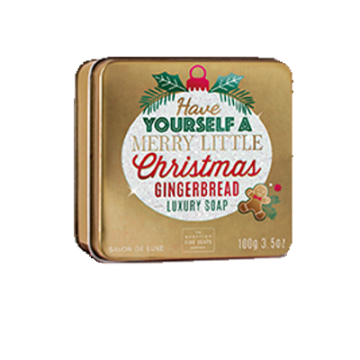 Have Yourself a Merry Little Christmas Christmas Soap in a Tin