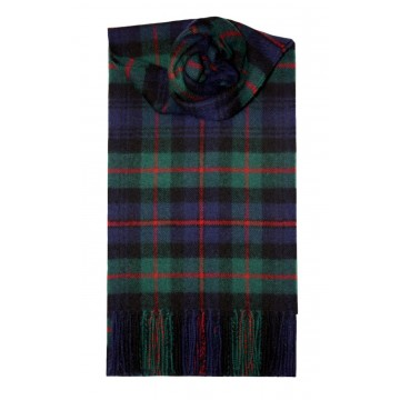 Murray of Atholl Modern Tartan 100% Lambswool Scarf by Lochcarron