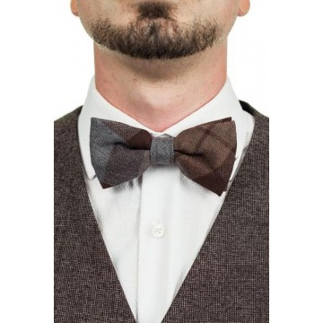 Official Outlander Tartan Wool Bow Tie