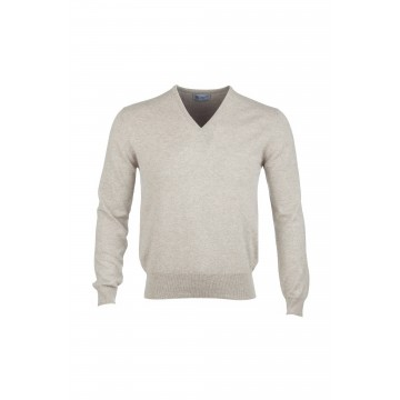 Classic Cashmere Sweater - Pebble
