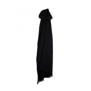 Sinclair Duncan Thistledown Cashmere Scarf - Rockpool Black